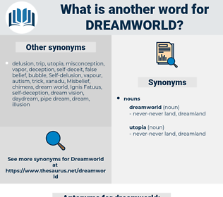 dreamworld, synonym dreamworld, another word for dreamworld, words like dreamworld, thesaurus dreamworld