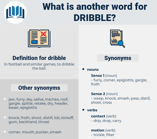 dribble, synonym dribble, another word for dribble, words like dribble, thesaurus dribble