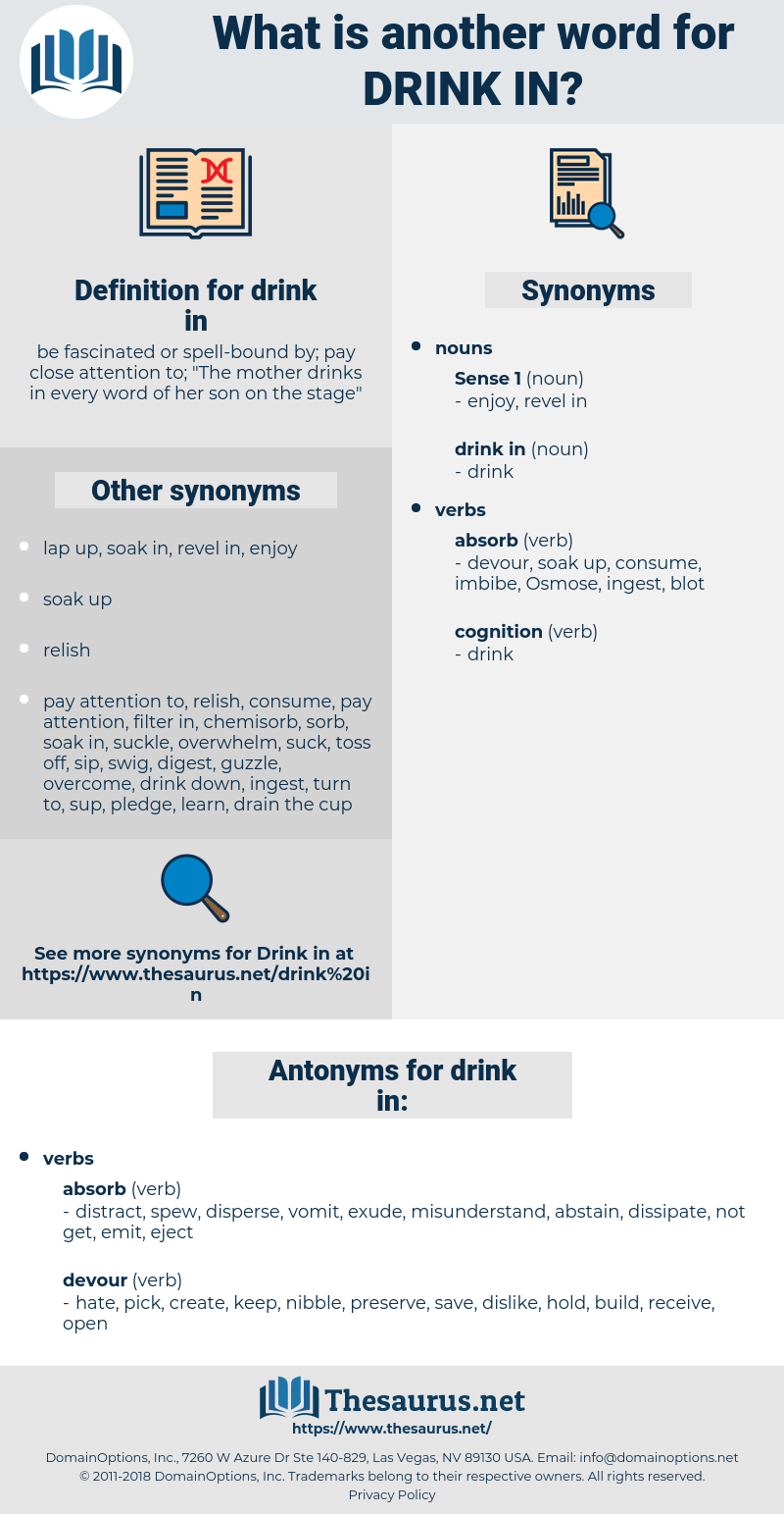 drink in, synonym drink in, another word for drink in, words like drink in, thesaurus drink in