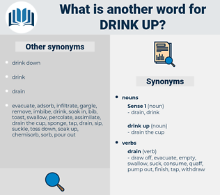 drink up, synonym drink up, another word for drink up, words like drink up, thesaurus drink up