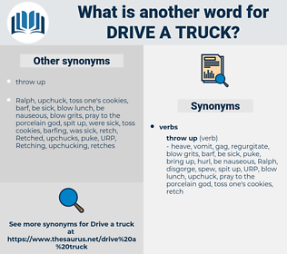 drive a truck, synonym drive a truck, another word for drive a truck, words like drive a truck, thesaurus drive a truck