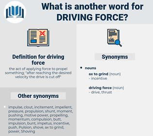 driving force, synonym driving force, another word for driving force, words like driving force, thesaurus driving force
