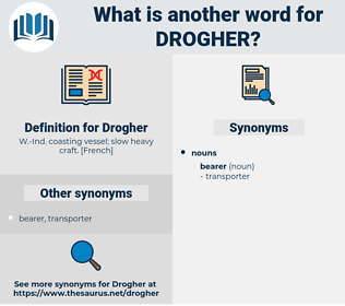 Drogher, synonym Drogher, another word for Drogher, words like Drogher, thesaurus Drogher