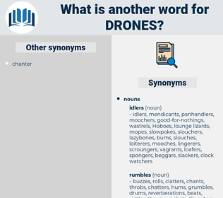 drones, synonym drones, another word for drones, words like drones, thesaurus drones