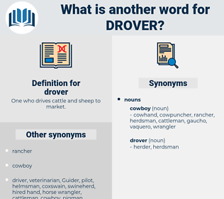 drover, synonym drover, another word for drover, words like drover, thesaurus drover