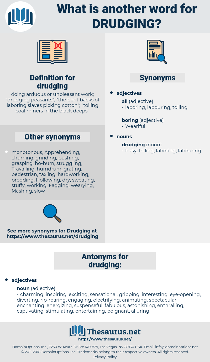 drudging, synonym drudging, another word for drudging, words like drudging, thesaurus drudging
