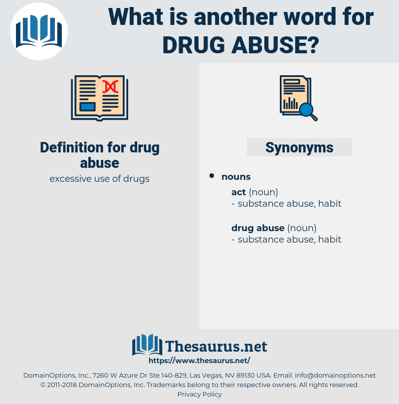 drug abuse, synonym drug abuse, another word for drug abuse, words like drug abuse, thesaurus drug abuse