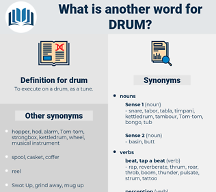 drum, synonym drum, another word for drum, words like drum, thesaurus drum
