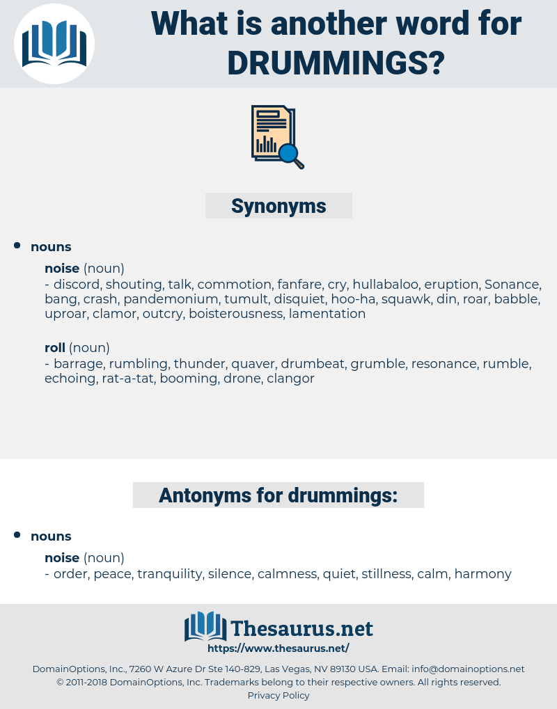 drummings, synonym drummings, another word for drummings, words like drummings, thesaurus drummings