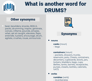 drums, synonym drums, another word for drums, words like drums, thesaurus drums