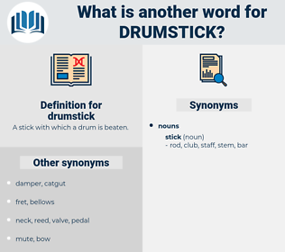 drumstick, synonym drumstick, another word for drumstick, words like drumstick, thesaurus drumstick
