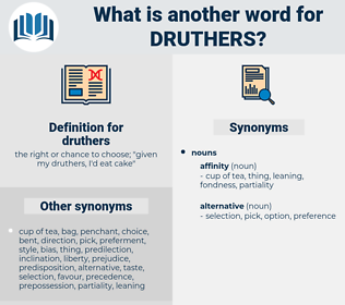 druthers, synonym druthers, another word for druthers, words like druthers, thesaurus druthers