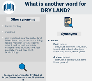 dry land, synonym dry land, another word for dry land, words like dry land, thesaurus dry land