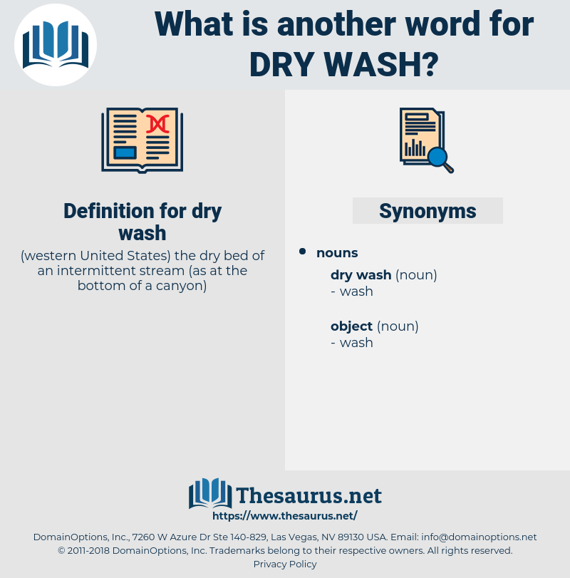 dry wash, synonym dry wash, another word for dry wash, words like dry wash, thesaurus dry wash