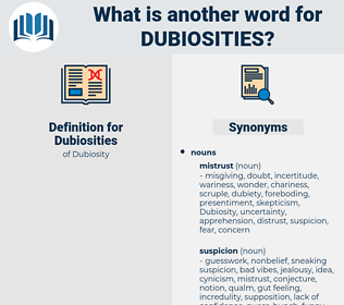 Dubiosities, synonym Dubiosities, another word for Dubiosities, words like Dubiosities, thesaurus Dubiosities