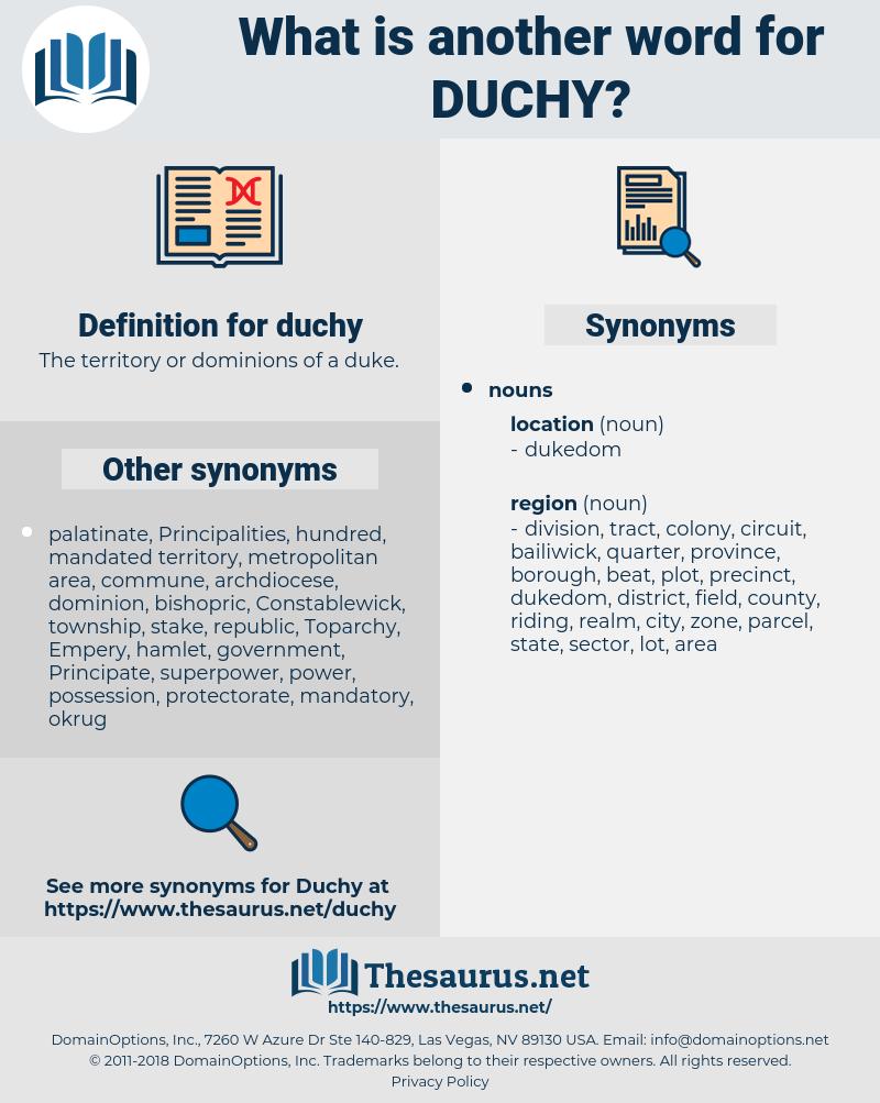 duchy, synonym duchy, another word for duchy, words like duchy, thesaurus duchy