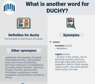 duchy, synonym duchy, another word for duchy, words like duchy, thesaurus duchy