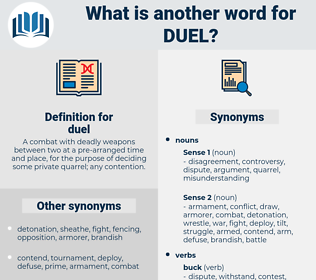 duel, synonym duel, another word for duel, words like duel, thesaurus duel