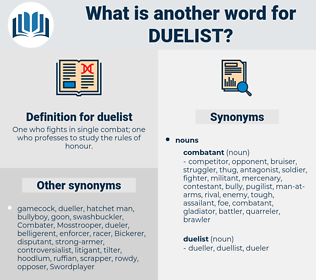 duelist, synonym duelist, another word for duelist, words like duelist, thesaurus duelist