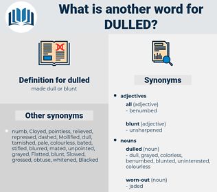 dulled, synonym dulled, another word for dulled, words like dulled, thesaurus dulled