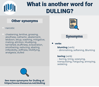 Dulling, synonym Dulling, another word for Dulling, words like Dulling, thesaurus Dulling