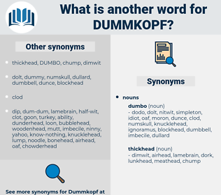 dummkopf, synonym dummkopf, another word for dummkopf, words like dummkopf, thesaurus dummkopf