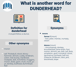 dunderhead, synonym dunderhead, another word for dunderhead, words like dunderhead, thesaurus dunderhead
