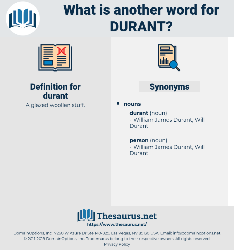 durant, synonym durant, another word for durant, words like durant, thesaurus durant