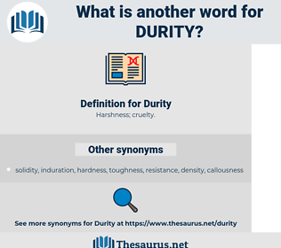 Durity, synonym Durity, another word for Durity, words like Durity, thesaurus Durity