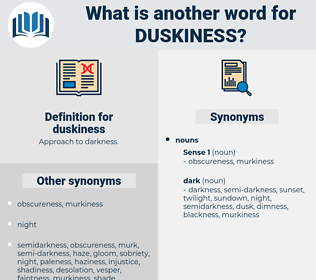 duskiness, synonym duskiness, another word for duskiness, words like duskiness, thesaurus duskiness