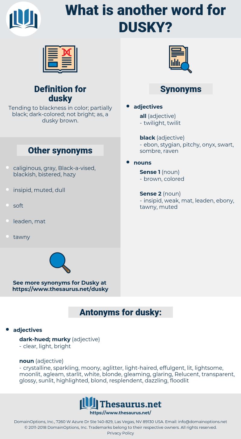 dusky, synonym dusky, another word for dusky, words like dusky, thesaurus dusky