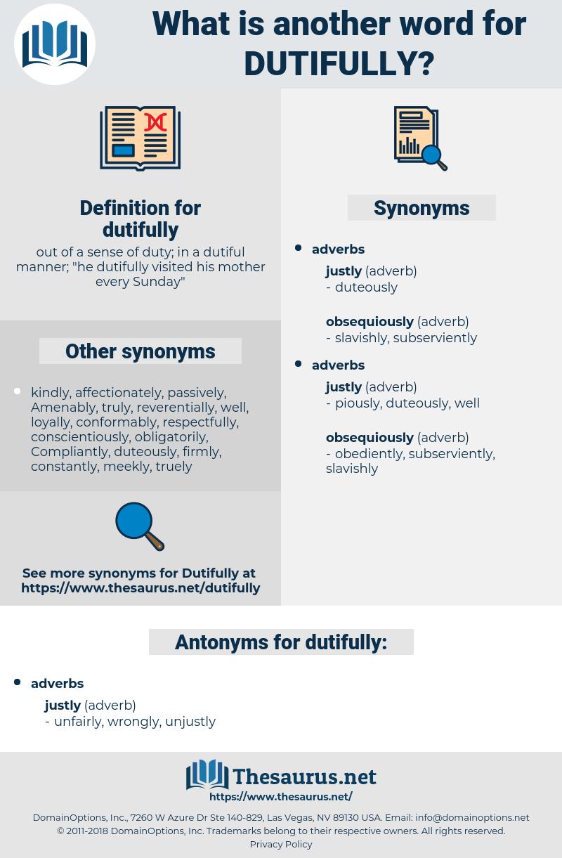 dutifully, synonym dutifully, another word for dutifully, words like dutifully, thesaurus dutifully