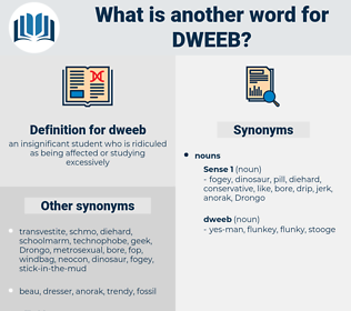 dweeb, synonym dweeb, another word for dweeb, words like dweeb, thesaurus dweeb