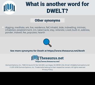 Dwelt, synonym Dwelt, another word for Dwelt, words like Dwelt, thesaurus Dwelt