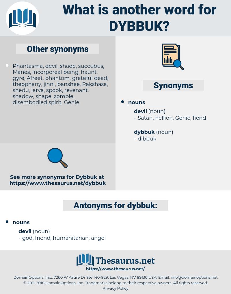 dybbuk, synonym dybbuk, another word for dybbuk, words like dybbuk, thesaurus dybbuk