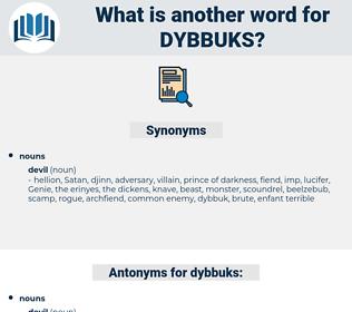 dybbuks, synonym dybbuks, another word for dybbuks, words like dybbuks, thesaurus dybbuks