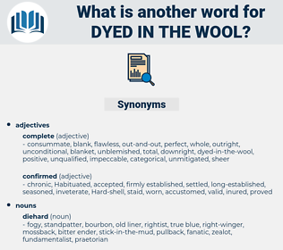 dyed-in-the-wool, synonym dyed-in-the-wool, another word for dyed-in-the-wool, words like dyed-in-the-wool, thesaurus dyed-in-the-wool