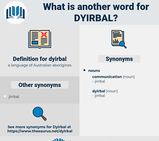 dyirbal, synonym dyirbal, another word for dyirbal, words like dyirbal, thesaurus dyirbal