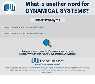 dynamical systems, synonym dynamical systems, another word for dynamical systems, words like dynamical systems, thesaurus dynamical systems