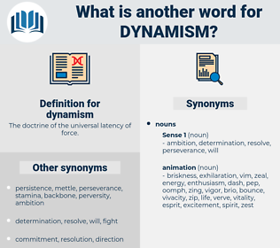 dynamism, synonym dynamism, another word for dynamism, words like dynamism, thesaurus dynamism