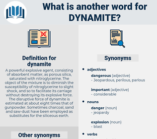 dynamite, synonym dynamite, another word for dynamite, words like dynamite, thesaurus dynamite