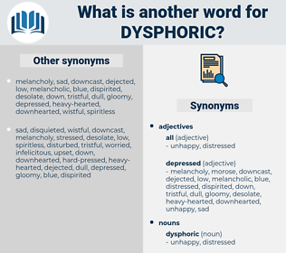 dysphoric, synonym dysphoric, another word for dysphoric, words like dysphoric, thesaurus dysphoric