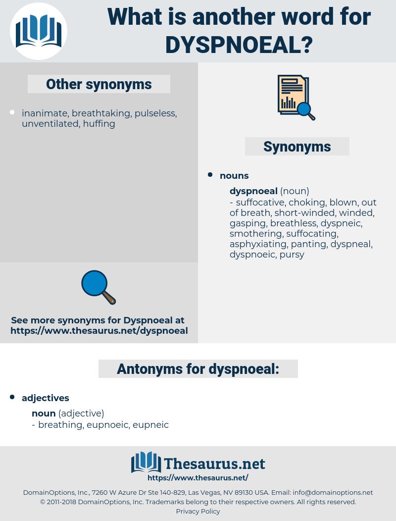dyspnoeal, synonym dyspnoeal, another word for dyspnoeal, words like dyspnoeal, thesaurus dyspnoeal