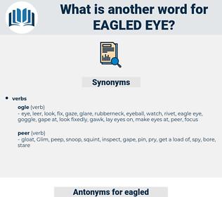 eagled eye, synonym eagled eye, another word for eagled eye, words like eagled eye, thesaurus eagled eye