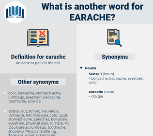 earache, synonym earache, another word for earache, words like earache, thesaurus earache