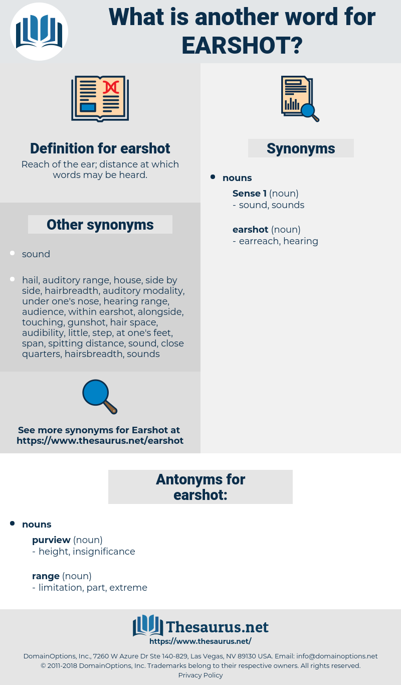earshot, synonym earshot, another word for earshot, words like earshot, thesaurus earshot