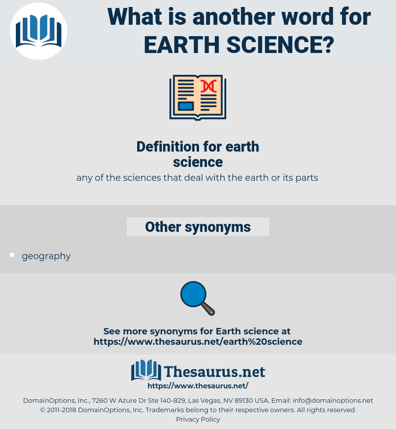 earth science, synonym earth science, another word for earth science, words like earth science, thesaurus earth science