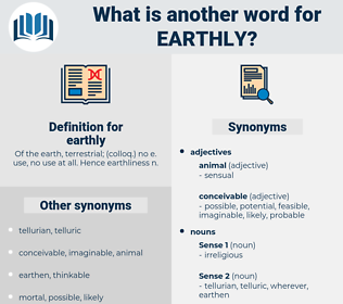 earthly, synonym earthly, another word for earthly, words like earthly, thesaurus earthly