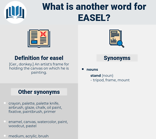 easel, synonym easel, another word for easel, words like easel, thesaurus easel