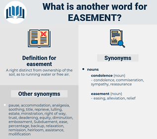 easement, synonym easement, another word for easement, words like easement, thesaurus easement